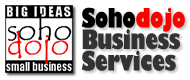 Logo of the Sohodojo Business Services website